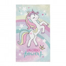 wholesale Home & Living: Unicorn hand towel (rainbow)