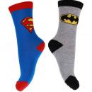nagyker Zoknik és harisnyák:Superman + Batman zokni
