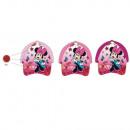 Minnie Mouse Girl in Baseball Cap (Dark Pink)