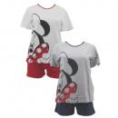 mayorista Pijamas: Minnie niña ratón con mangas cortas piyama