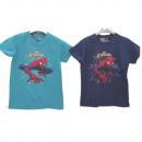 Niño Spider-Man en camiseta de manga corta