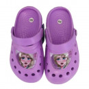 mayorista Zapatos: frozen zapatillas de niña (violeta)