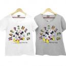 groothandel Licentie artikelen: Minnie muis meisje korte mouw t-shirt (Happiness)