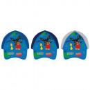 Bing boy baseball cap (gray, blue)