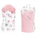 Velvet floral bandage (pink)