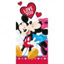 mayorista Artículos con licencia: Minnie y Mickey Mouse Disney toallas (amor)