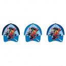 Spider-Man boy in baseball cap (blue)