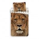 Lion bedding (brown)