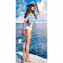 wholesale Bath & Towelling: Sailor girl towel 70x140 cm