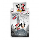 Minnie et Mickey Mouse Londres Disney Literie