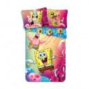 Spongebob bed linen (Pink)