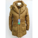 wholesale Coats & Jackets: winter jacket with hood, color mix