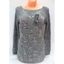 Women's  sweater, mix color, long sleeve