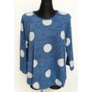 Großhandel Hemden & Blusen: Bluse für Frauen, gepunkteter