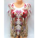 wholesale Shirts & Blouses: blouse for women,  short sleeve, flowers ,coton
