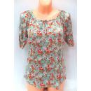wholesale Shirts & Blouses: blouse for women,  short sleeve, flowers