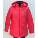 Autumn jacket for  women, mix color with a hood