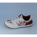 sneakers for women  with flowers, white 36-41