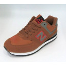 shoes for men  41-46 brown / red D29