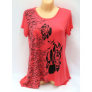 blouse for women,  short sleeve, color mix
