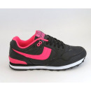 sneakers for  women, sports, black and pink