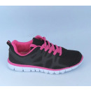 Women's  sneakers 36-41 black / fuchsia