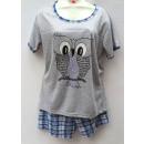 ingrosso biancheria notte: pigiama donne,  S-2XL, T-shirt e pantaloncini