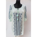 Ladies tunic,  sleeves 3/4 , mix color