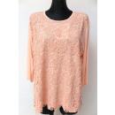Großhandel Hemden & Blusen: Bluse für Frauen, lange Hülse, Spitze