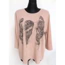 Großhandel Hemden & Blusen: Bluse für Frauen,  Mischungsfarbe, L-2XL