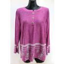 Großhandel Hemden & Blusen: Bluse für Frauen, große, lange Hülse