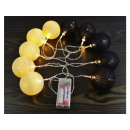 hurtownia Mieszkanie & Dekoracje: Lampki Cotton Balls 10 sztuk