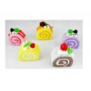 hurtownia Upominki & Artykuly papiernicze: Magnesy na lodówkę kawałki tortów 6x4 cm HIT!