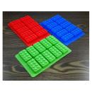 Mold chocolates, building blocks LEGO