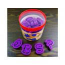 hurtownia Zabawki: Litery do masy cukrowej czcionka DISNEY 26szt