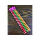 hurtownia Ogrod & Majsterkowanie: Klej na gorąco kolorowy z brokatem 6szt cienki
