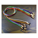 hurtownia Artykuly elektroniczne: Kabel audio minijack nylon aluminium AUX