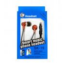 hurtownia Artykuly elektroniczne: Słuchawki metaliczne z mikrofonem