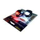 hurtownia Sport & czas wolny: Zestaw LED lampki  rowerowe, silikon 2 sztuki