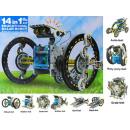 Robot solarny zabawka pojazdy 14 in 1