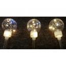 hurtownia Dekoracje: Ozdoba sztyca 50 LED + błysk