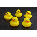 wholesale Figures & Sculptures:Rubber duck 5 pieces