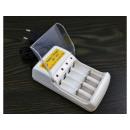 hurtownia Samochody & quady: Ładowarka do  akumulatorów 4xAA/AAA