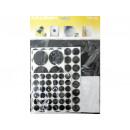 hurtownia Mieszkanie & Dekoracje: Zestaw gumowych podkładek pod meble