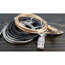 hurtownia Komputer & telekomunikacja: Kabel do ładowania micro-USB + data STALOWY