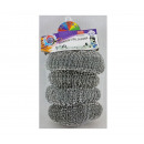 hurtownia Srodki & materialy czyszczace:Druciaki zmywaki 4szt