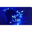 hurtownia Ogrod & Majsterkowanie: Lampki zewnętrzne 100 LED niebieski plus błysk