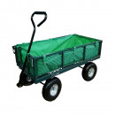 Großhandel Gartengeräte: Gartenwagen aus Metall mit einer Tragfähigkeit von