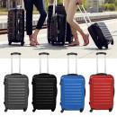 Set of 4 rigid-walled suitcases, 4 colors