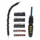 50-piece swivel head screwdriver set
